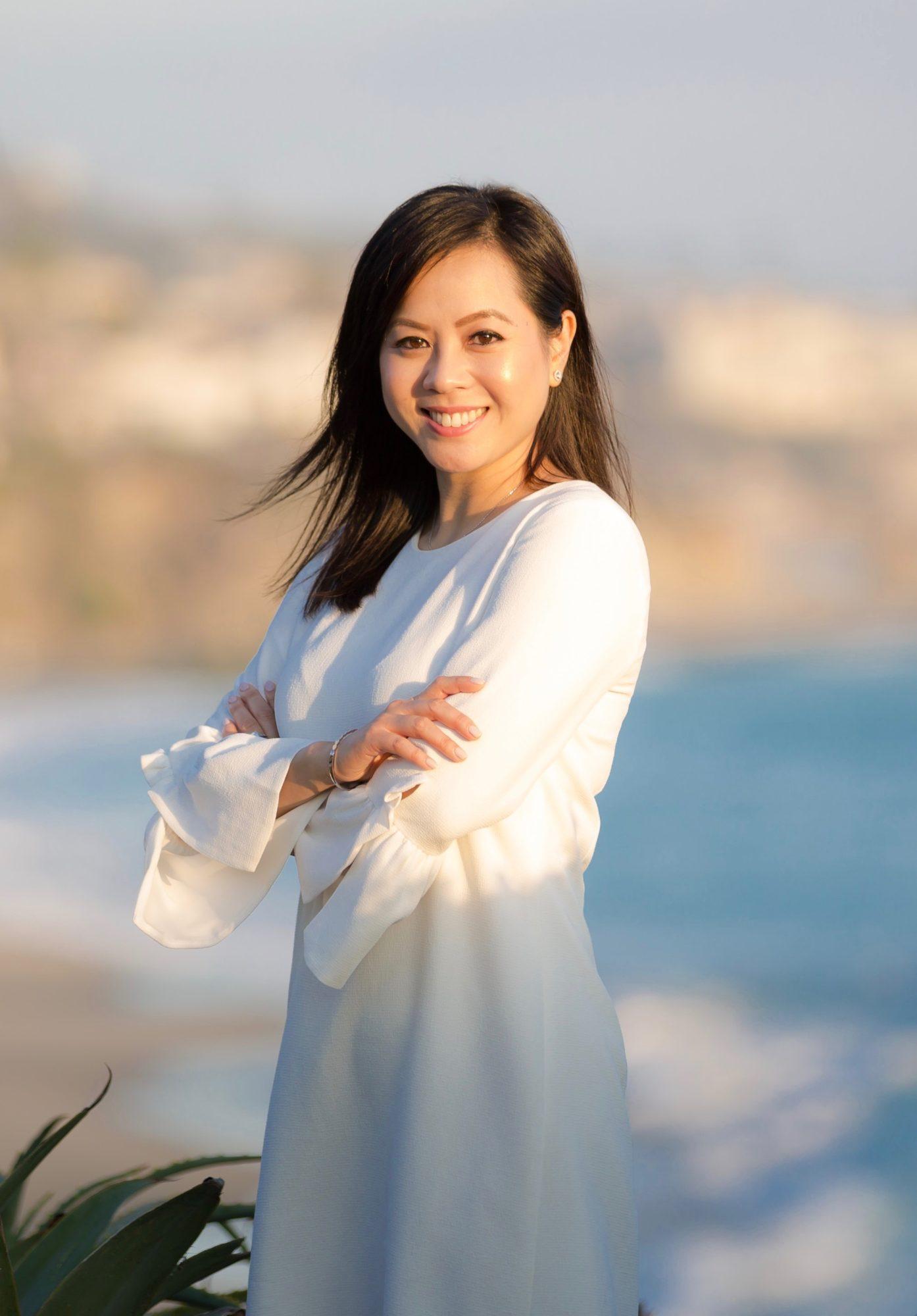 Asian Female Dentist Smiling