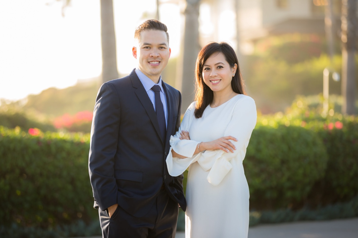 Two Asian Dentists in Laguna Hills Smiling